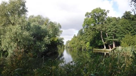 Stunning waterside views on the walk from Beccles