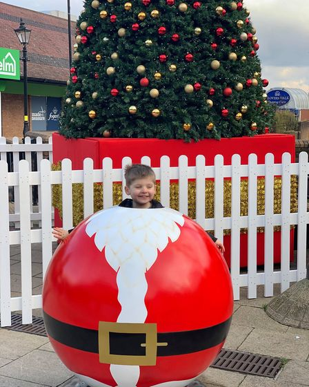 Their new festive pods provide the perfect photo opportunity...