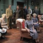 The cast of A Murder Is Announced at Blackpool Grand Theatre