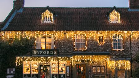 Christmas Lights in Holt (photo Sarah Louise Orme)
