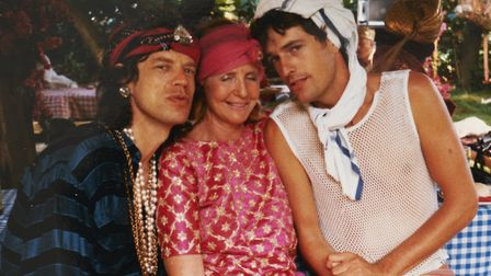 Hanging out with Mick Jagger and Rupert Everett on Mustique in the 1980s