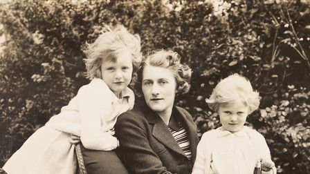 Lady Anne, with her mother and sister Carey, right