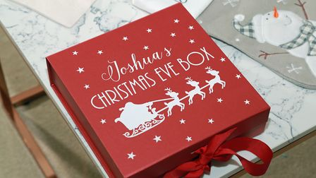 Personalised gift maker Gemma Markland has created a festive collection