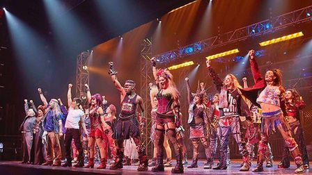 We Will Rock You at Blackpool Opera House. Picture: Johan Persson