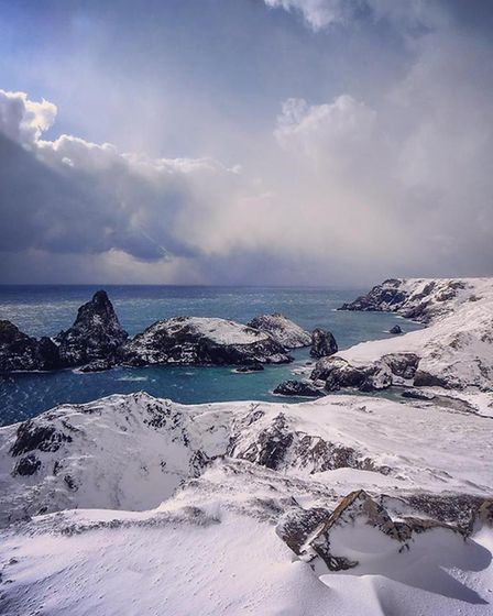 Kynance Cove. Picture taken by the Kynance Cove Cafe