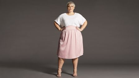 The Sally skirt- named after Sally Darby, founder of Mums Like Us, a network for disabled mothers