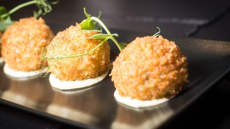 Arancini at Crow Wood Hotel (c) Andy Ford