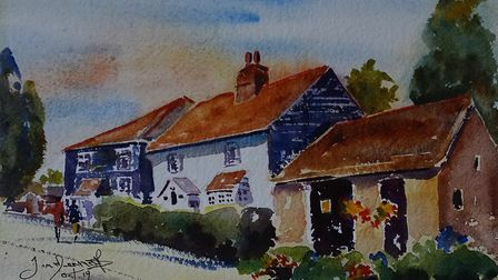 AINSWORTH AND BELL COTTAGES Wonderful varied architecture, with weather boarding, plastered walls a