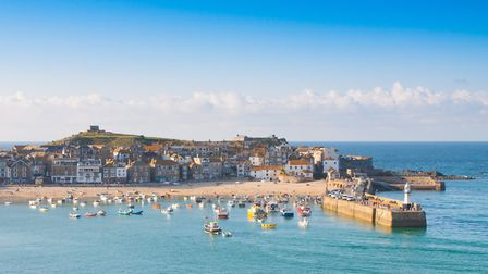 St Ives Harbour. Getty Images/iStockphoto