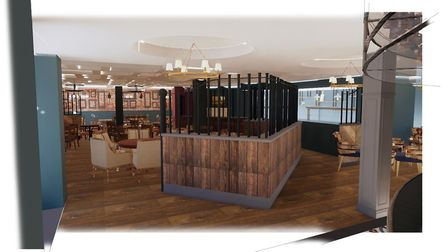 Artists' impresions of the revamped Bold Hotel in Southport