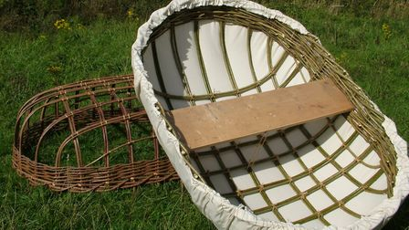 A coracle built from willow