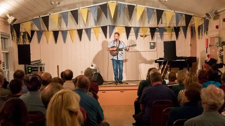 Blaxhall Sessions in the 'hut'