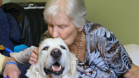 Residents at Springdale really came to love Abbee (photo: Serena Shores)