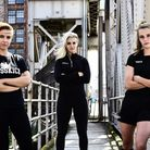 Some of the range of MissKick clothing