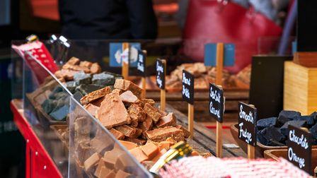 Fudge display. Photo credit: Victor Huang, Getty Images/iStockphoto