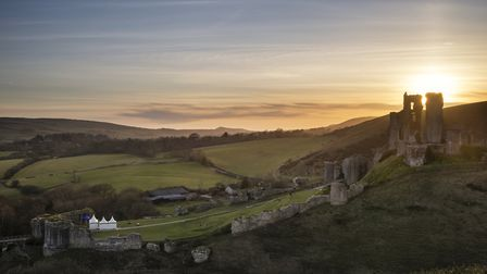 Join in with the festivities at Corfe Castle this weekend. Photo credit: Matt_Gibson/Getty Images/iS