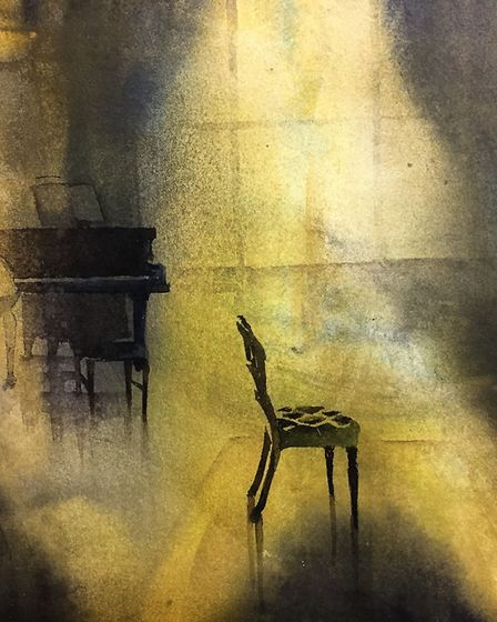 Ruskin's Chair by Kate Bentley