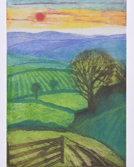 'Blue Remembered Hills' by Hilary Adair