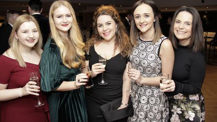 Nicola Murray, Holly Nelson, Poppy Sparrow, Lucy Hurst and Kirsty Mayle