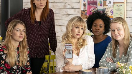 Some of the cast of Motherland (photo: BBC/Merman/Colin Hutton)