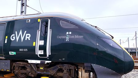 GWR named a train in honour of the World War Two veteran