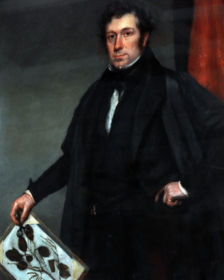 EADT features Lynne Mortimer The painting of Proffessor John Stevens Henslow at Ipswich Museum