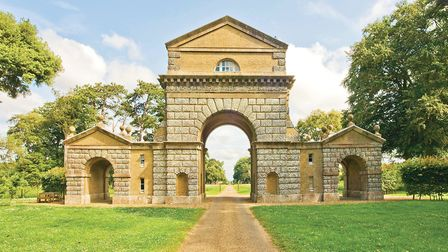 The Triumphant Arch at Holkham Hall (photo: Tony Hall)
