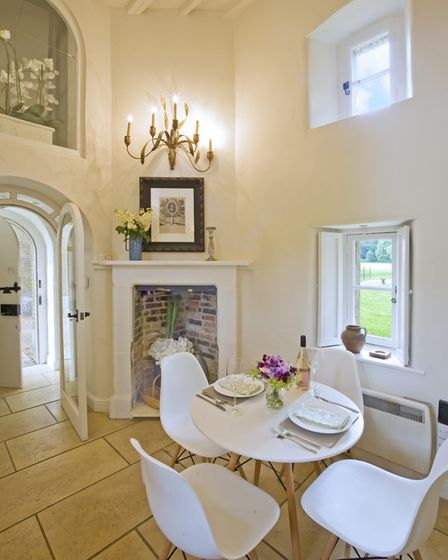 Dining area, table and chairs from John Lewis (photo: Tony Hall)