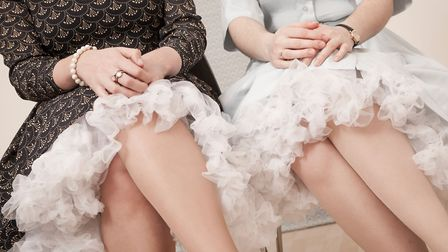 A vintage petticoat could save you from VPL. Photo: Alamy
