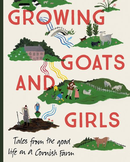 Growing Goats and Girls by Rosanne Hodin is published by Coronet.
