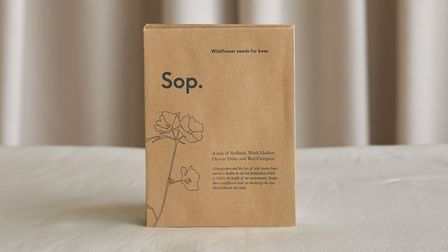 A seeds packet from Scents of place. Photo: Fiona Burrage