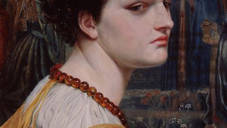 Who is this girl? Mystery of the subject of 140-year-old painting in Norwich castle Museum. Photo co