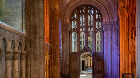 Norwich Cathedral, a peaceful place. Photo: Bill Smith
