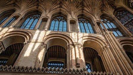 The soaring roof of Norwich Cathedral. Photo: Bill Smith