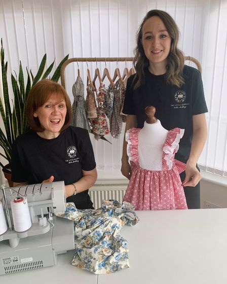 Eco-friendly clothing company Little Elephant was launched by mum and daughter Carol and Rachel Jack