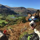Rowan taking a break on the fells