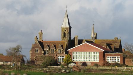 Stogursey Primary School was given to the village by Peregrine Acland