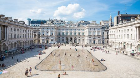 The Edmond J. Safra Fountain Court, Somerset House CREDIT Kevin Meredith
