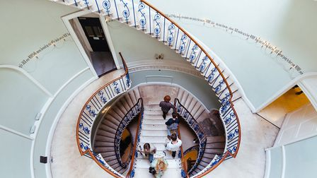 Nelson Stairway, Somerset House CREDIT Kevin Meredith