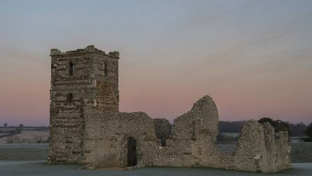 Knowlton Church and earthworks a great dark skies spot for stargazing Photo: Mark Heighes/Getty Imag
