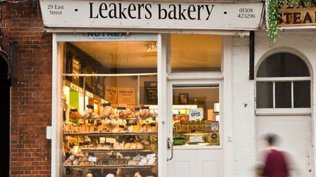 Leakers Bakery which has been operating in Bridport since 1914, have donated £100 to the winning sho