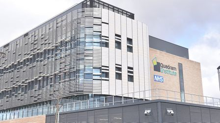 Quadrum Institute Norwich NHS where scientists are currently working on a vaccine for Coronavirus CO
