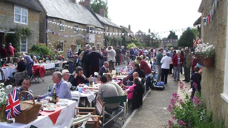 Hinton is well-known for its community street parties
