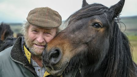 Bill Potter fears for the future of fell ponies in Lakeland