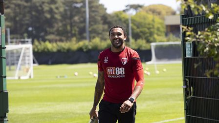Callum Wilson gets ready for a training session Photo: AFC Bournemouth