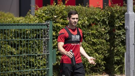 Lewis Cook turns up for the first day of training PhotoL AFC Bournemouth