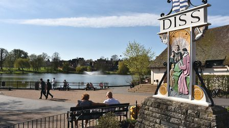 What is the body of water in the heart of Diss called? Photo: Sonya Duncan