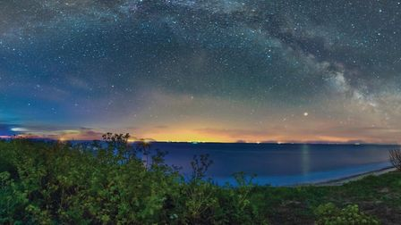 Norwich Astronomical Society member Jason Durrant took this image of the Milky Way from Covehithe on
