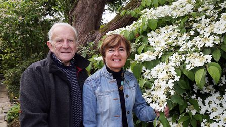 Peter and Edith have spent more than 50 years creating their garden