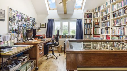 Hill House at Bealings, near Woodbridge provides fabulous spaces to work. Photo: Savills